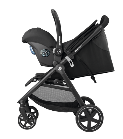 Maxi Cosi Gia Stroller with Citi Car Seat and Base-Travel Systems-Maxi Cosi-Nomad Black-www.hellomom.co.za