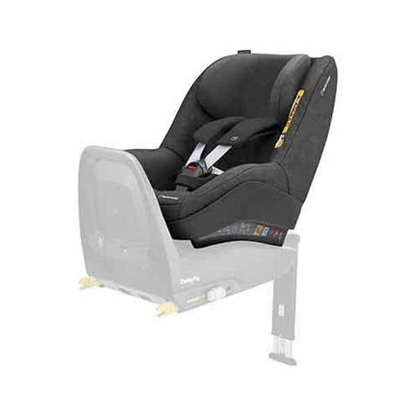 maxi cosi pearl pro in nomad black in rearward facing position