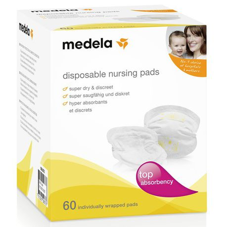 Medela Nursing Pads - 60pcs-Breast Feeding Accessories-Medela-www.hellomom.co.za