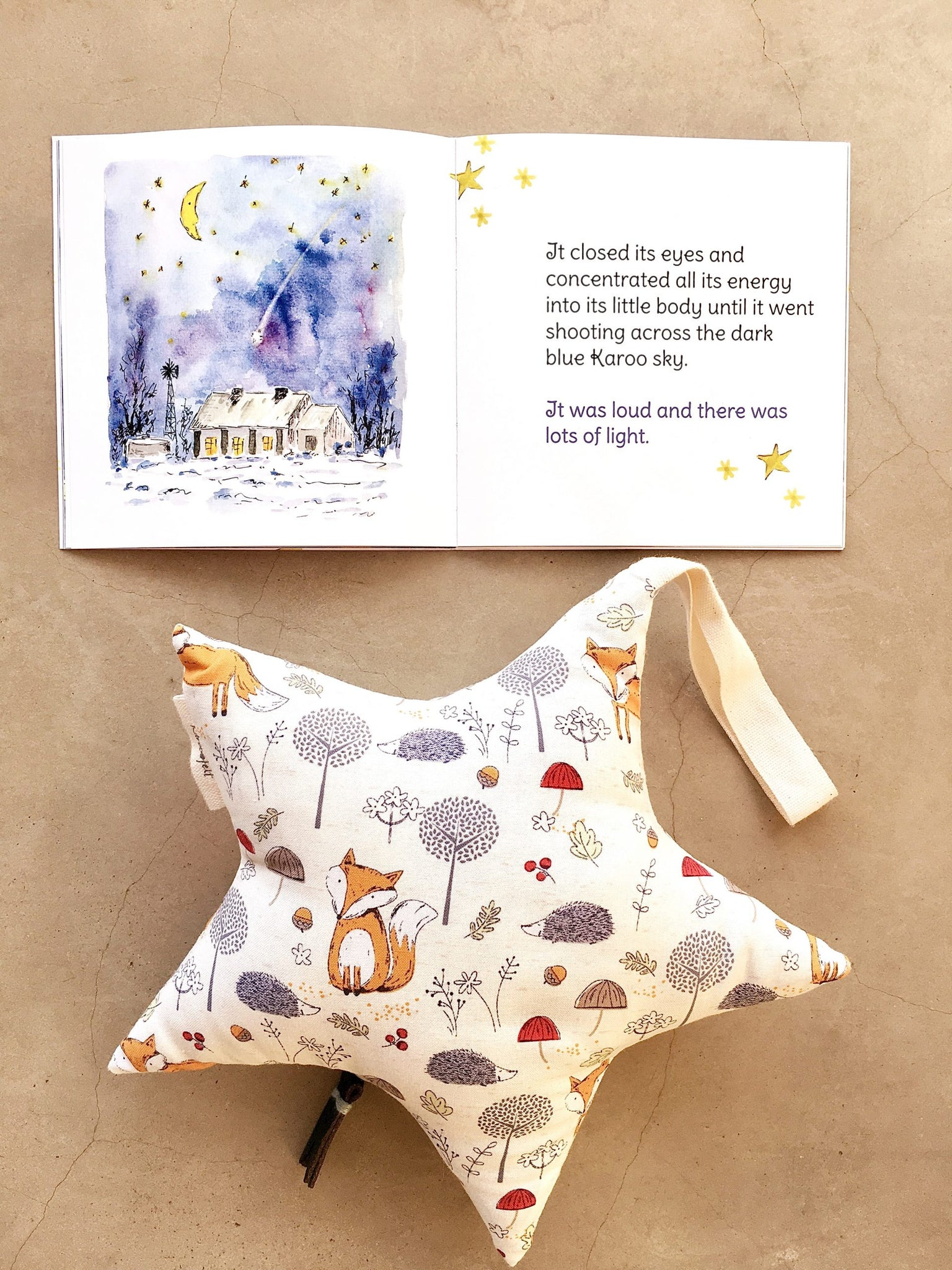 Musical Stars Mobile With Booklet-Mobiles-Karoofelt-Brahm's Lullaby-Clever Little Fox-www.hellomom.co.za