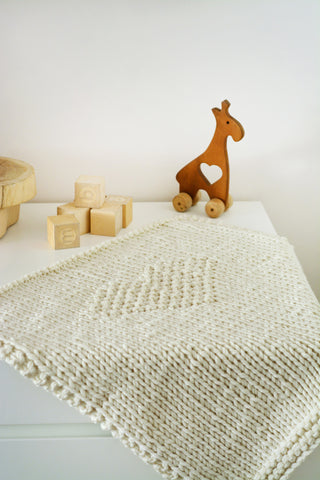 Nordic Inspired Baby Blanket by Blankets From Africa