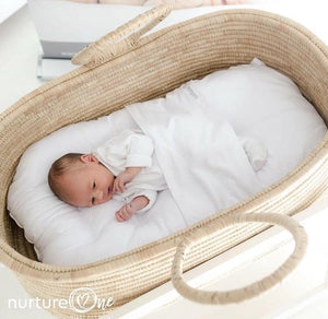 Nurture One Nesting Pillow in Moses Basket