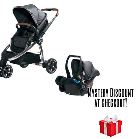Chelino Platinum Discovery Travel System with Chrome Frame-Travel Systems-Chelino-www.hellomom.co.za