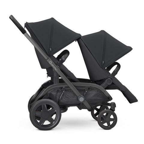 Quinny Hubb Duo Stroller-Strollers-Quinny-Black on Black-www.hellomom.co.za
