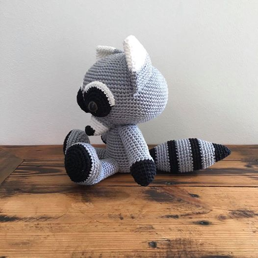 Hand Stitched Racoon-toys-In Stitches-www.hellomom.co.za