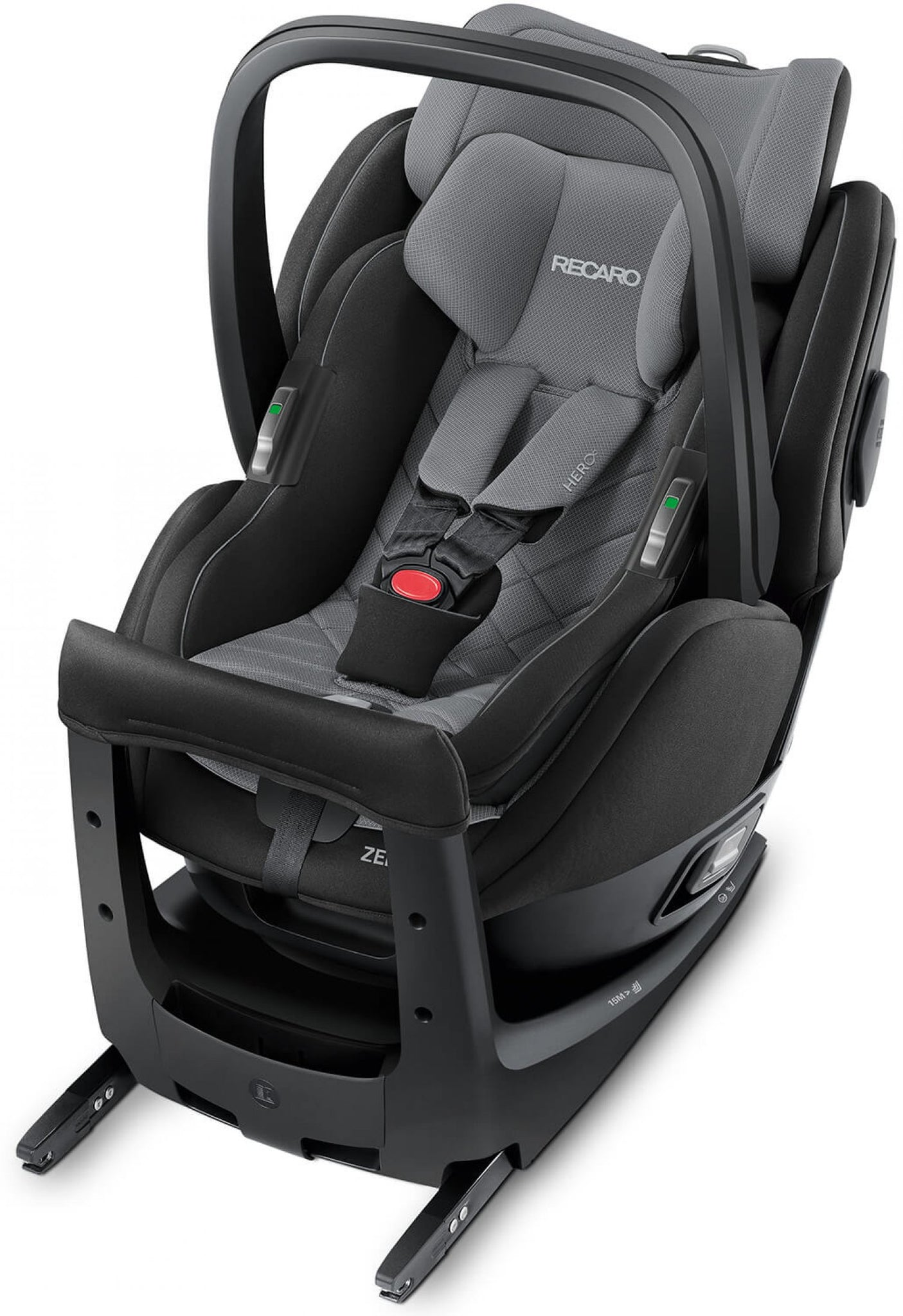 Recaro Zero One Elite I-Size Car Seat-Car Seats-Recaro-Carbon Black-www.hellomom.co.za