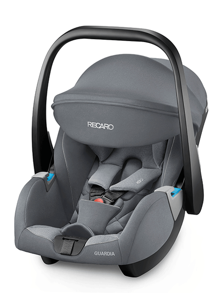 Recaro Guardia Infant Car Seat-Car Seats-Recaro-Aluminium Grey-www.hellomom.co.za