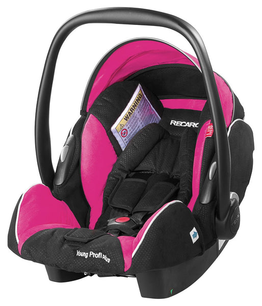 Recaro Young Profi Plus Car Seat-Car Seats-Recaro-Pink-www.hellomom.co.za
