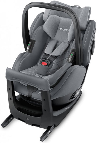Recaro Zero One Elite I-Size Car Seat-Car Seats-Recaro-Aluminium Grey-www.hellomom.co.za