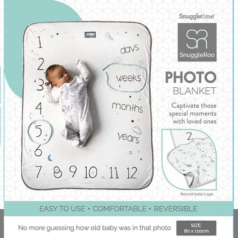 Snuggletime Snuggleroo Photo Blanket-Blankets-Snuggletime-www.hellomom.co.za