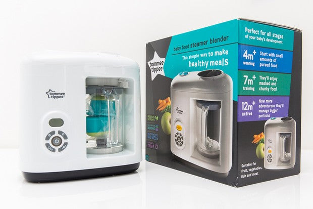 Tomme Tippe Food Steamer Blender-Food Steamer-Tomme Tippee-www.hellomom.co.za