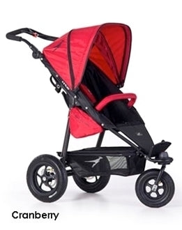 TFK Joggster Twist Lite Stroller with Maxi Cosi Citi Car Seat and Base-Travel Systems-Trends for Kids-TFK Stroller in Cranberry and Citi car seat in Black-www.hellomom.co.za