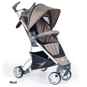TFK Dot Stroller-Strollers-Trends for Kids-Carbo Mud-www.hellomom.co.za