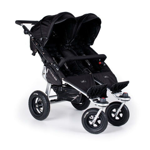 TFK Twinner Twist Duo Stroller-Strollers-Trends for Kids-Black-www.hellomom.co.za