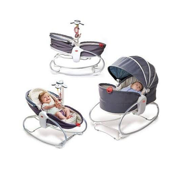 Tiny Love Cozy Rocker Napper-Bouncer-Tiny Love-Heather Grey-www.hellomom.co.za