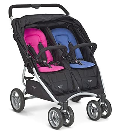 Valco All Sorts Seat Pad and Head Hugger in Vlaco Snap Du Stroller