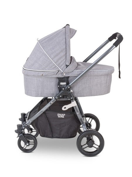 Valco Snap Ultra Bassinet in Grey Merle