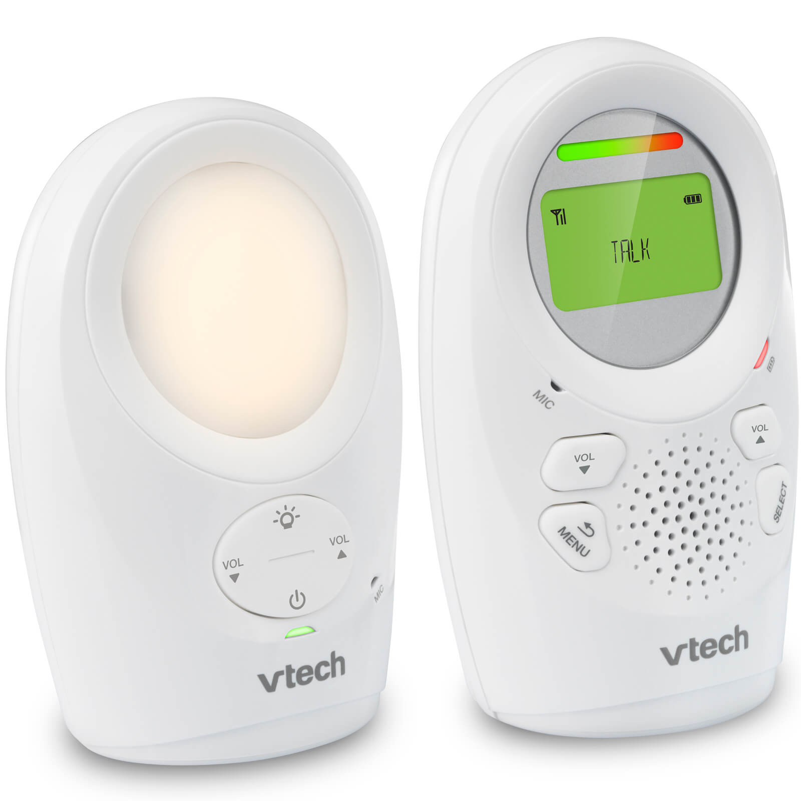 VTech Safe and Sound Digital Audio Monitor with LCD Screen DM1211-Monitor-Vtech-www.hellomom.co.za