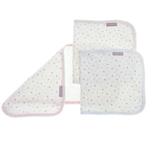 Baby Sense Burp Cloth - 2 pcs-Burp Cloths-Baby Sense-Blue-www.hellomom.co.za