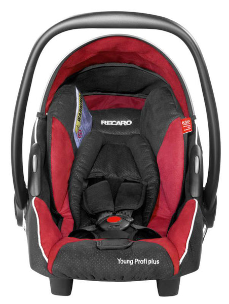 Recaro Young Profi Plus Car Seat-Car Seats-Recaro-Punched Cherry-www.hellomom.co.za