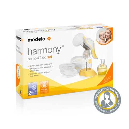 Medela Harmony Pump and Feed Set Packaged