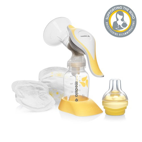 Medela Pump and Feed Set with Harmony Pump and Calma Feeding Device