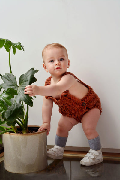 Bobble Baby Romper by Blankets From Africa-Clothing-Blankets From Africa-6 to 12 months-Persian-www.hellomom.co.za