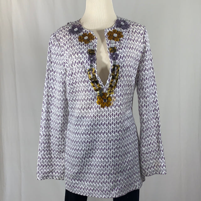 Tory Burch Size 8 Shirt