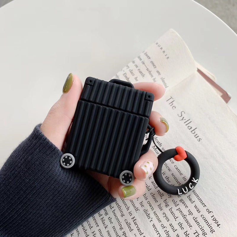 Colorful Square Suitcase Airpods Case - Popular Airpods Cases - TomorrowSummer
