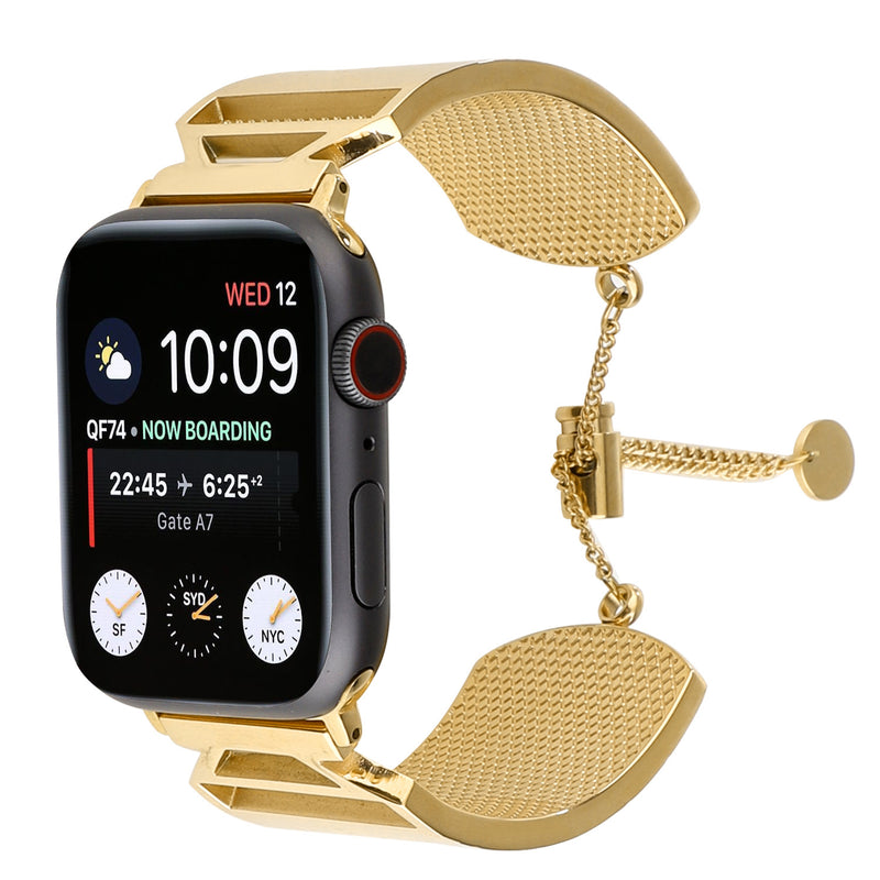Embossing Stainless Steel Strap For Apple Watch 1,2,3,4 -  - TomorrowSummer