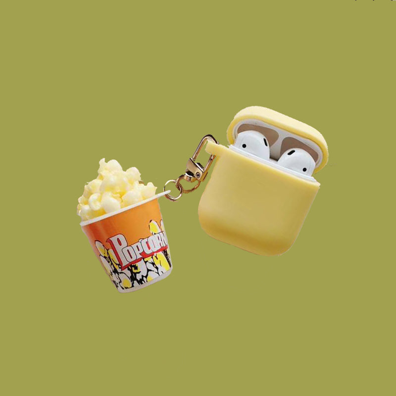 Pop Corn Chain Airpods Case -  - TomorrowSummer