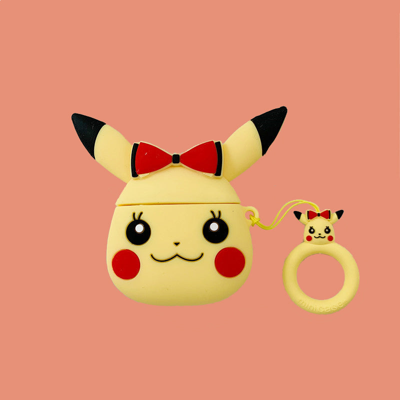 Cute Pikachu Airpods Case - Animation Airpods Cases - TomorrowSummer