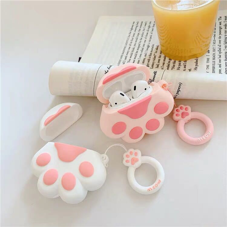 Cat Claw AirPods Case - Animal Airpods Cases - TomorrowSummer