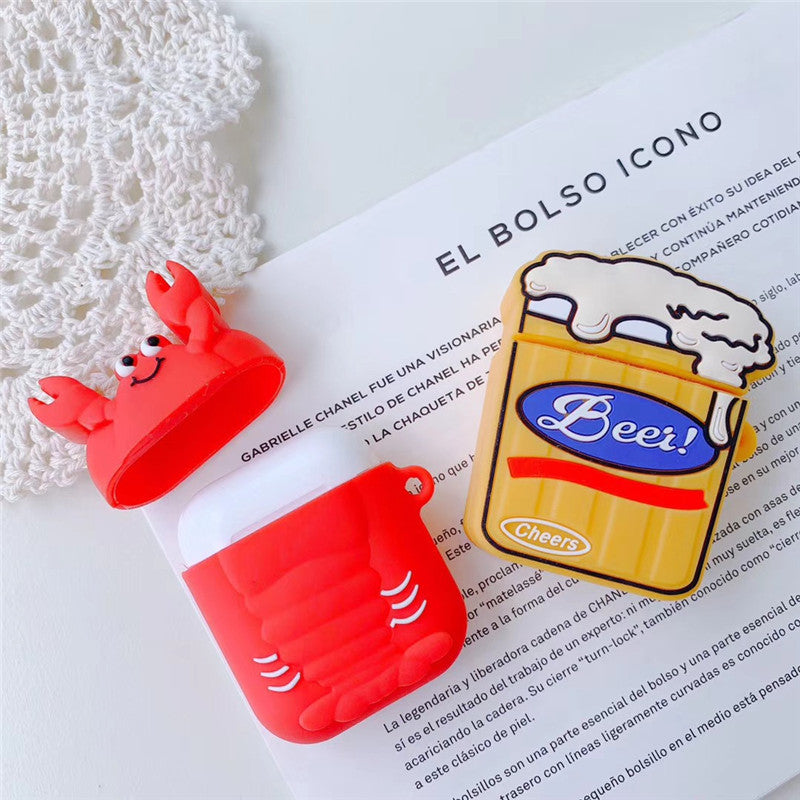 Crayfish & Beer Airpods Case - Food Airpods Case - TomorrowSummer
