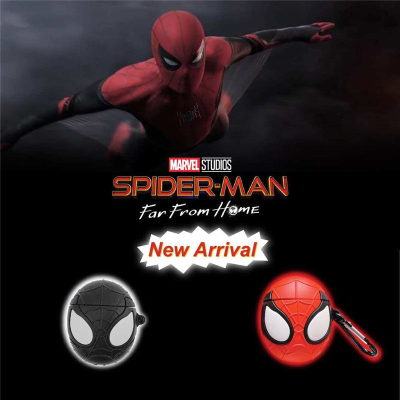 Spider Man Head Shaped Airpods Case -  - TomorrowSummer