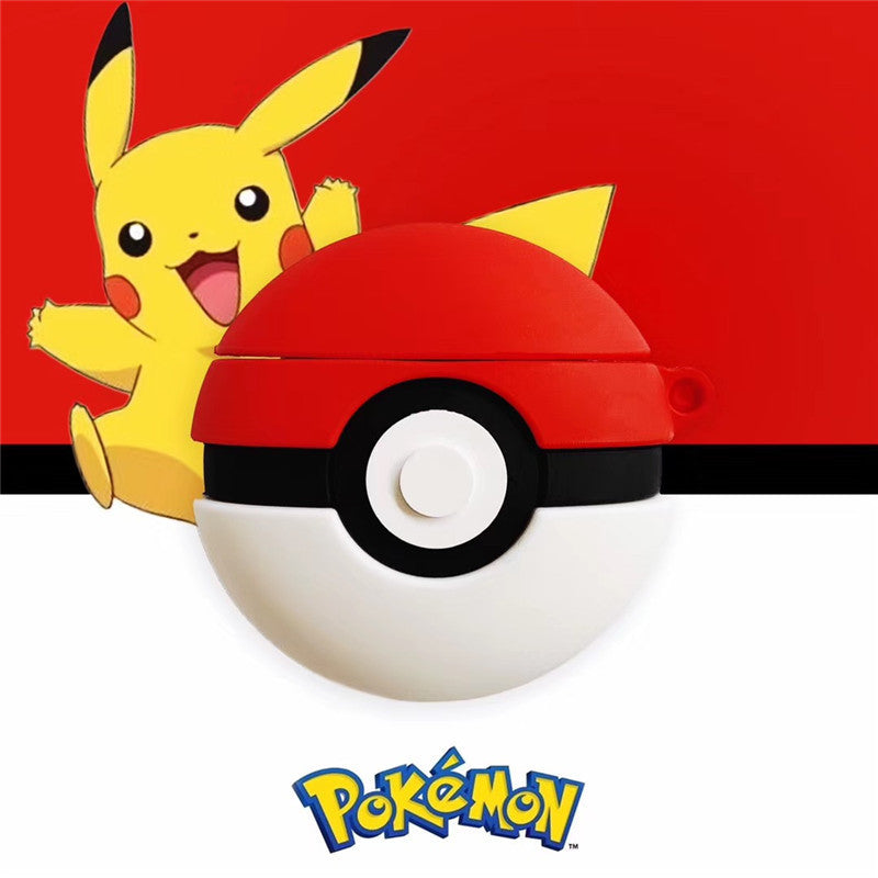 Pokemon Poke Ball AirPods Case -  - TomorrowSummer