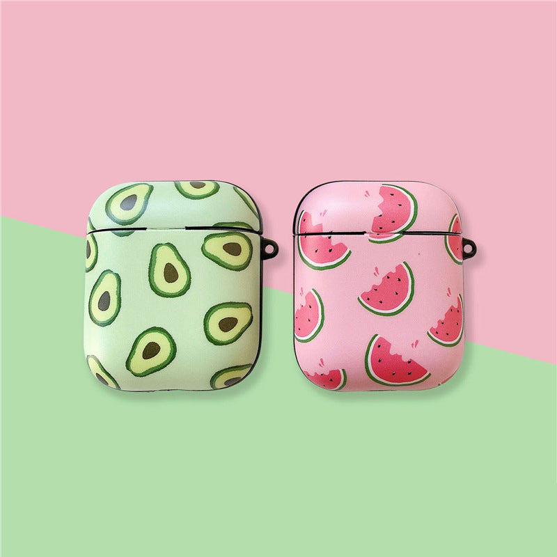 Avocado and Watermelon Airpods Case - Food Airpods Cases - TomorrowSummer