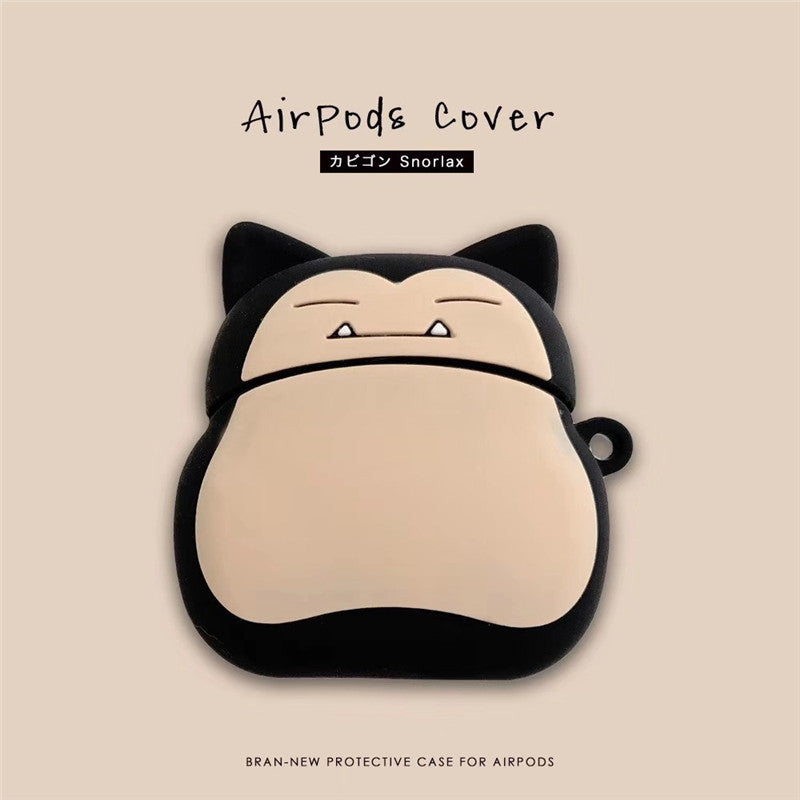 Fat Snorlax Airpods Case -  - TomorrowSummer