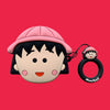 Chibi Maruko Chan Airpods Case - Animation Airpods Cases - TomorrowSummer