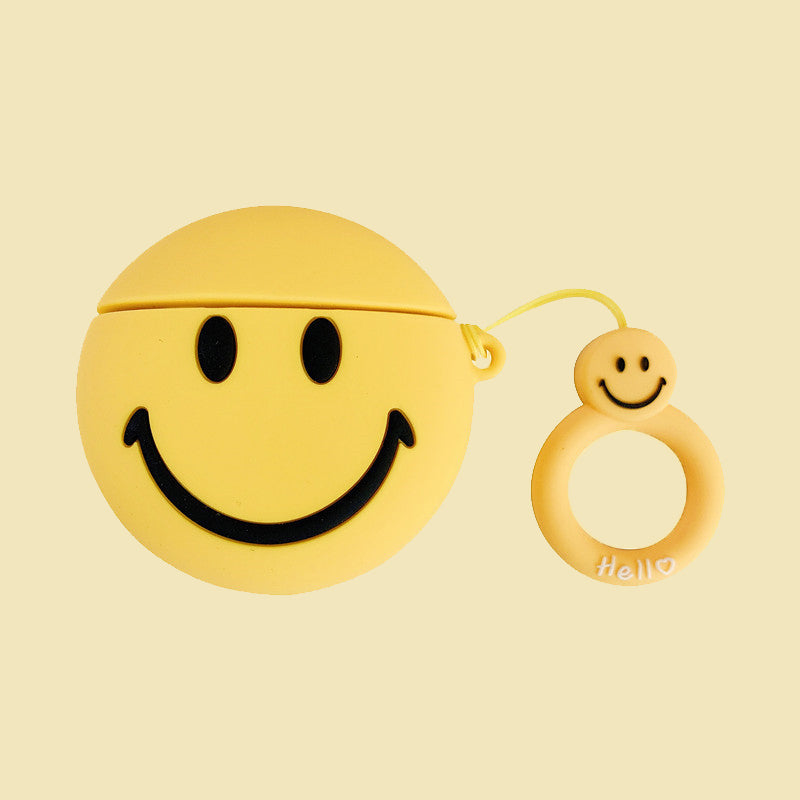 Smile Face Airpods Pro Case -  - TomorrowSummer