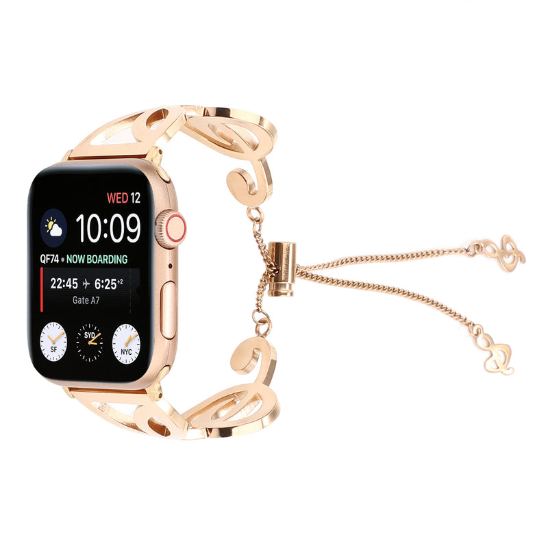 Note-Shape Stainless Steel Strap For Apple Watch 1,2,3,4 -  - TomorrowSummer