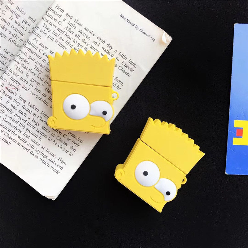 The Simpsons Airpods Case -  - TomorrowSummer