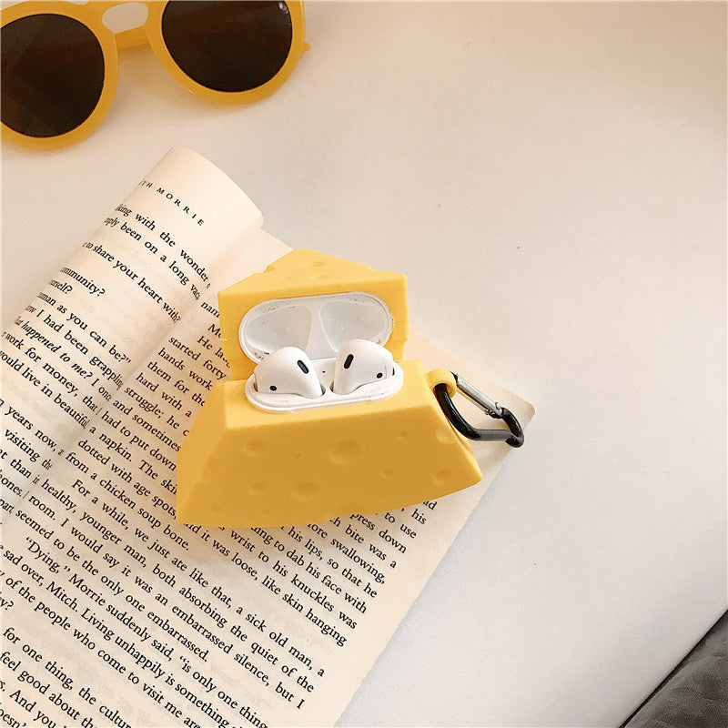 Cute Cheese Airpods Case - Food Airpods Cases - TomorrowSummer