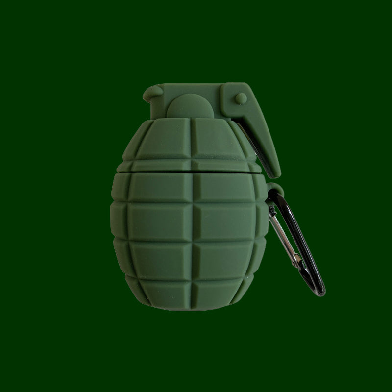 PUBG Grenade Airpods Case -  - TomorrowSummer