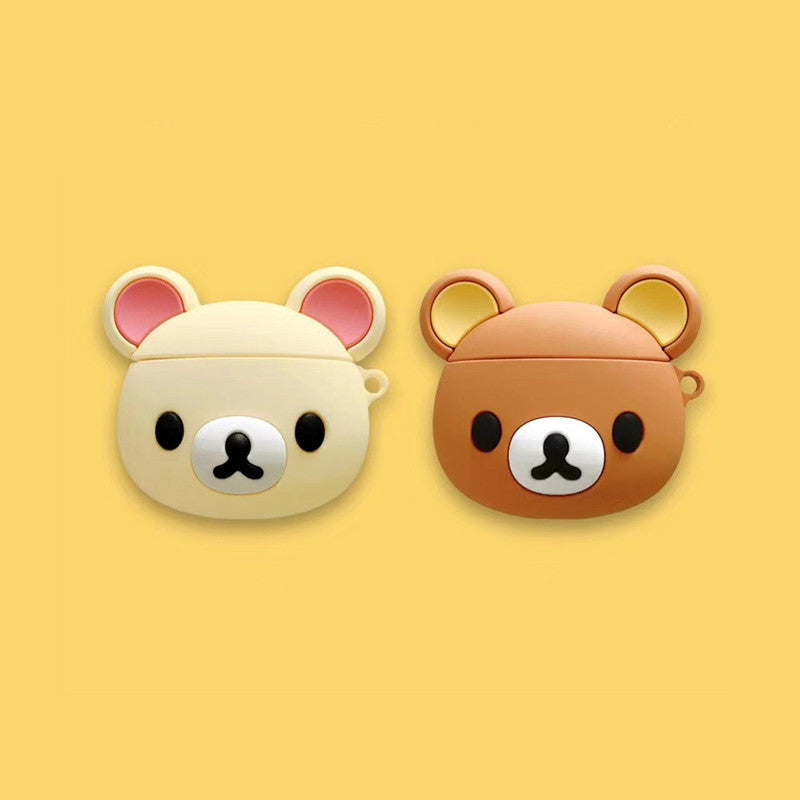 Cute Rilakkuma Airpods Case - Animation Airpods Cases - TomorrowSummer