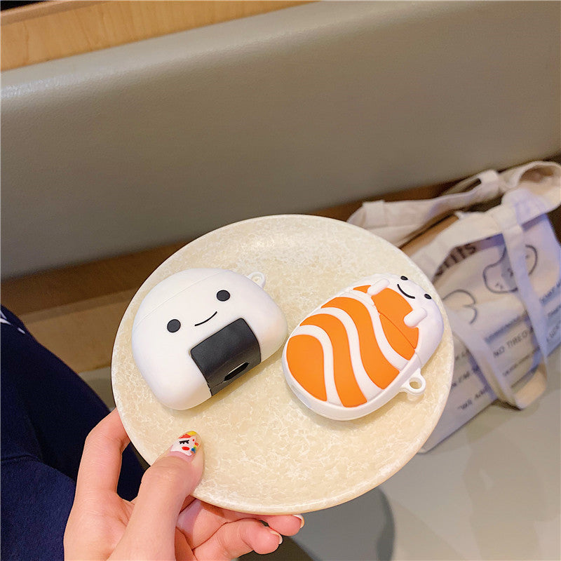 Salmon and Rice Ball Airpods Case - Fashion Airpods Cases - TomorrowSummer