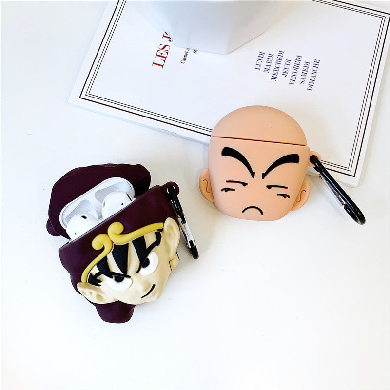 Dragon Ball Kuririn & Goku Airpods Case - Animation Airpods Cases - TomorrowSummer