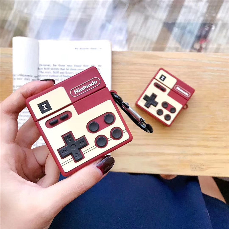 Vintage Nintendo Switch Gamepad Shaped Airpods Case -  - TomorrowSummer