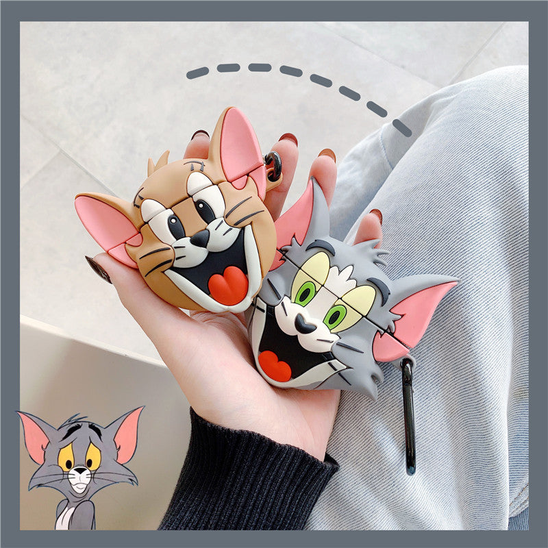Tom and Jerry Airpods Case -  - TomorrowSummer