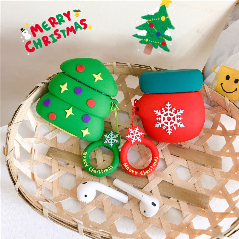 Christmas Santa & Gingerbread Man & Reindeer & Tree & Bag Airpods Case - Popular Airpods Cases - TomorrowSummer